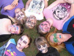 Face Painting, Sydney birthday parties